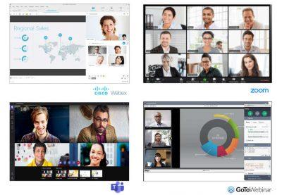 Oldschool online classrooms - Webex, Zoom, Teams, GoToWebinar
