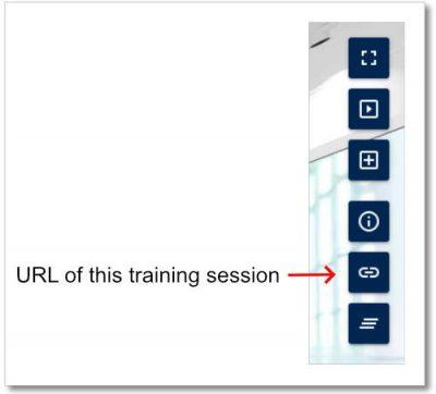 Virtual Classroom - URL of this online training session