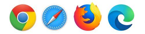 Virtual Classroom compatible with Chrome, Safari, Firefox, Edge Chromium