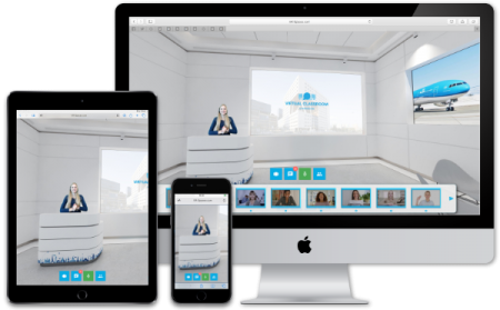 Virtual Classroom - for desktop, tablet and mobile phone